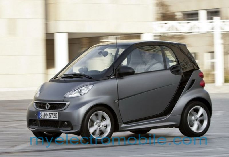 220 Auto electromobile mercedes smart fortwo
