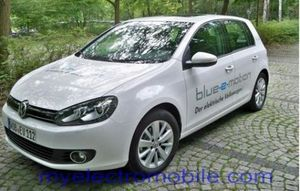 электомобиль volkswagen golf